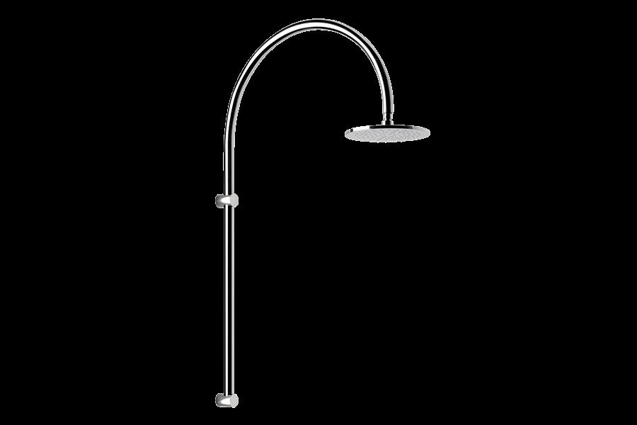 Imagínese la ducha al aire libre, piscina, jardín - ARCO Inoxstyle (profile)