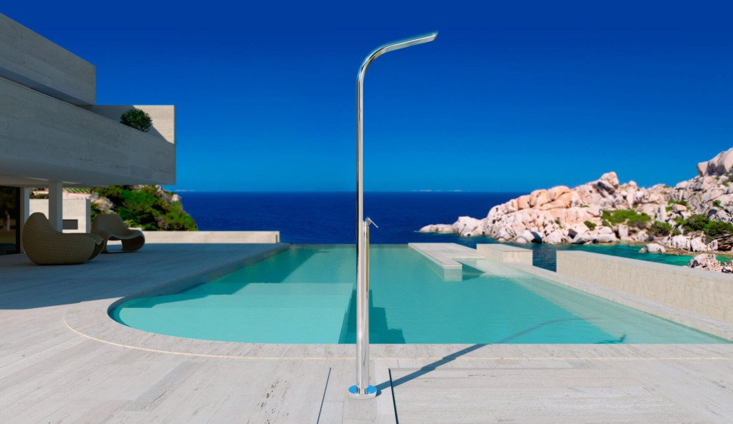 dreamyacht doccia piscina